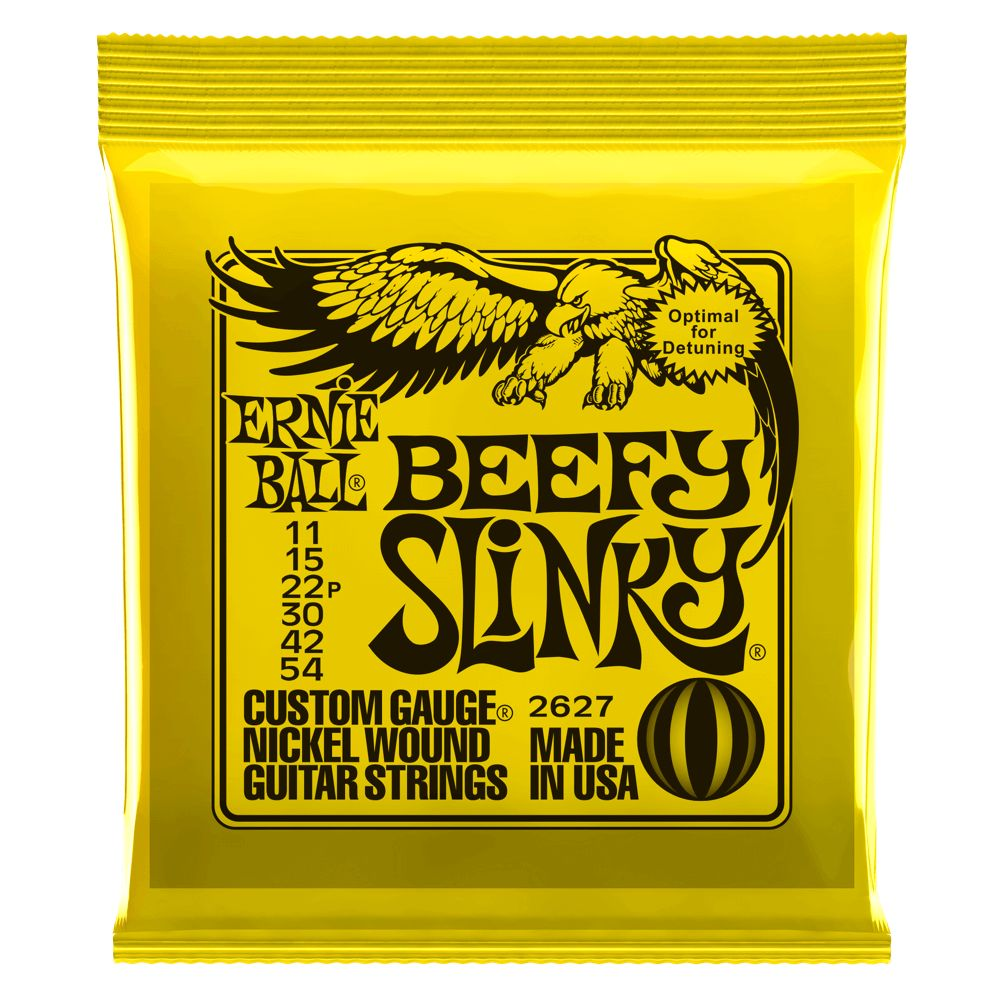 Ernie Ball Ernie Ball 2627 Beefy Slinky Electric String Set, 11-54