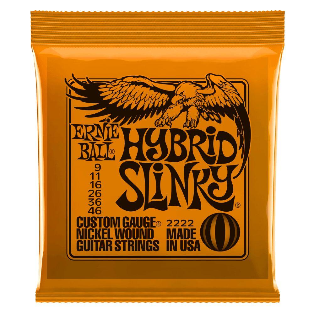 Ernie Ball Ernie Ball 2222 Hybrid Slinky Electric String Set, 9-46