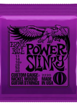 Ernie Ball Ernie Ball 2220 Power Slinky Electric String Set, 11-48