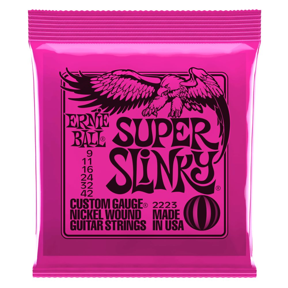 Ernie Ball Ernie Ball 2223 Super Slinky Electric String Set, 9-42