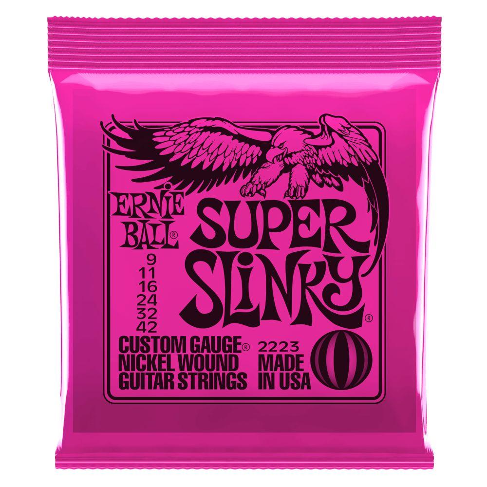 Ernie Ball Ernie Ball Super Slinky Electric Strings