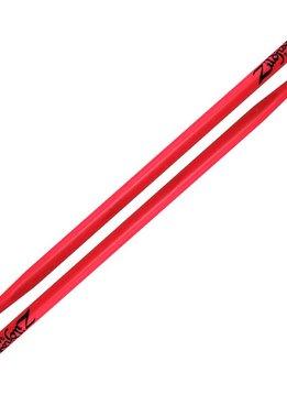 Zildjian Zildjian 5A Acorn Wood Tip, Neon Pink
