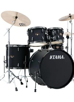 Tama Tama Imperial Star 5pc with Hardware and Cymbals, Blacked Out Black