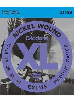 D'Addario D'Addario EXL115 Blues/Jazz Rock 11-49