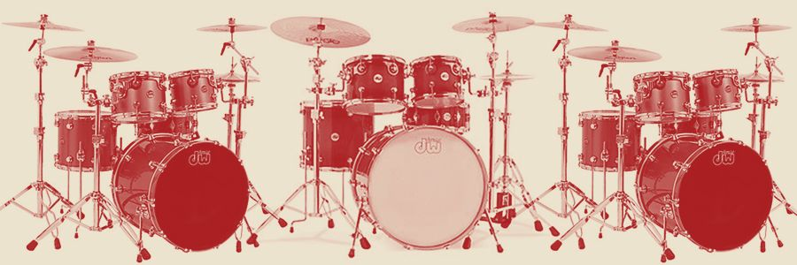 Compare the DW Series Drums