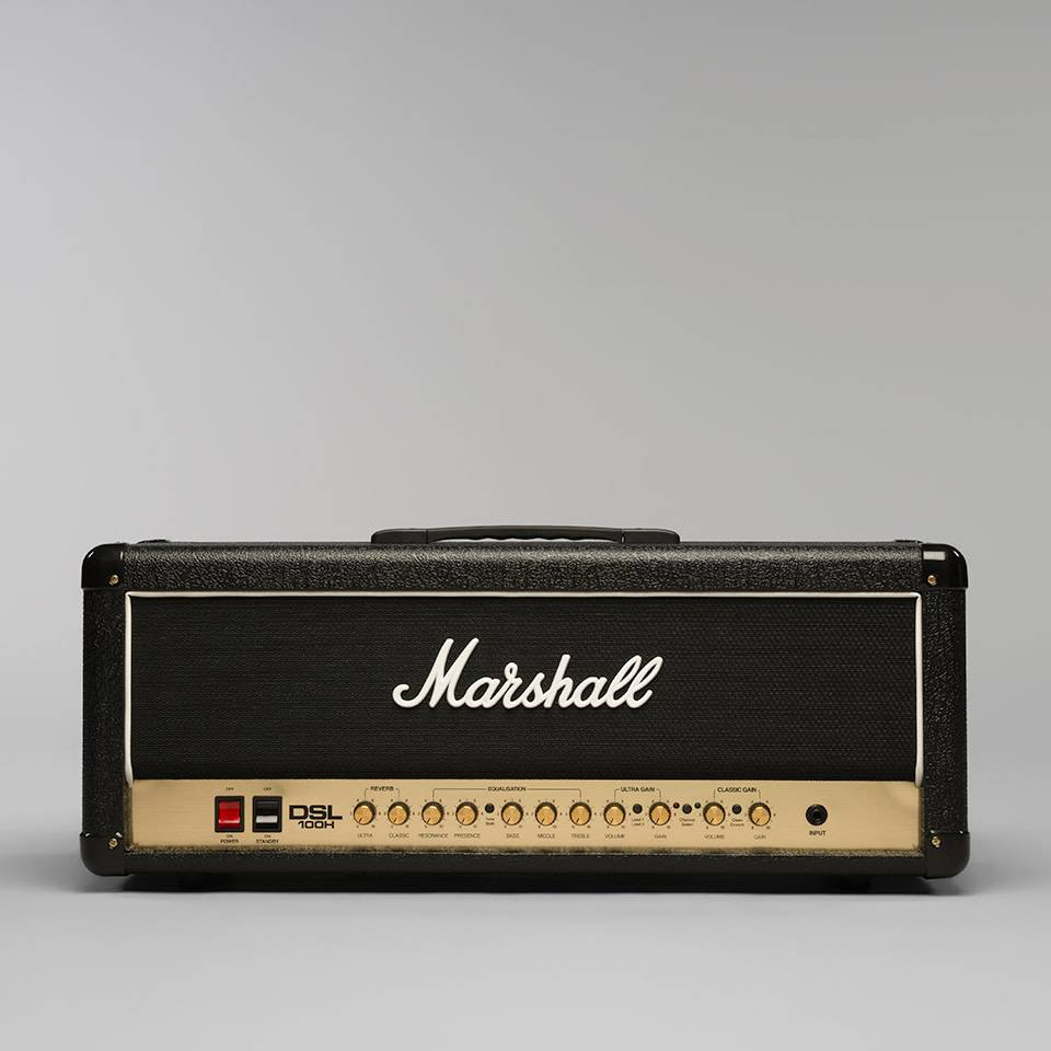 Marshall Marshall DSL100H 100W All Valve 2 Channel Head