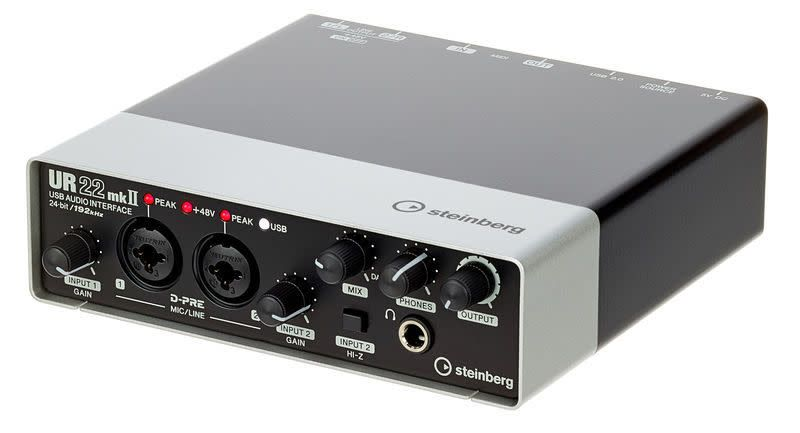 Steinberg Steinberg UR22 MkIISteinberg Ur22Mkii USB Audio Interface