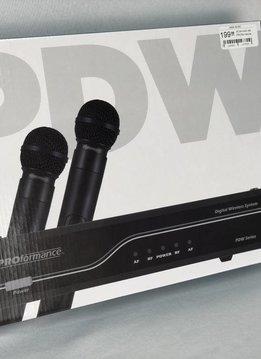 Proformance PROformance PDW-HH2 AA Digital Dual Handheld System