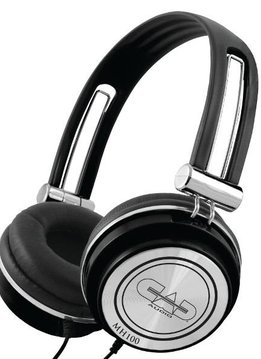 CAD Cad MH100 Closed-back Studio Headphones - 40mm Drivers - Black