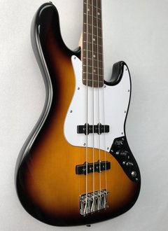 Squier Squier Affinity Jazz Bass®,  Rosewood Fingerboard,  Brown Sunburst