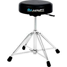 DW DW Drums 9000 Series Heavy-Duty Air Lift Throne, Round - DWCP9100AL