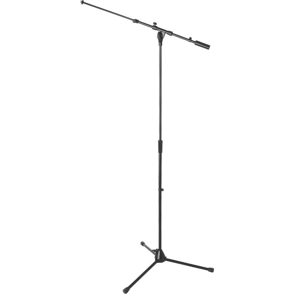 On-Stage On-Stage MS9701TB  Heavy-Duty Tele-Boom Microphone Stand- Black