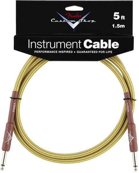 Fender Fender® Custom Shop Cable, 5', Tweed