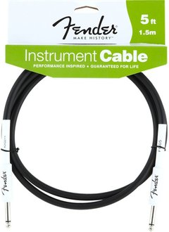 Fender Fender® Performance Series Instrument Cable, 5', Black