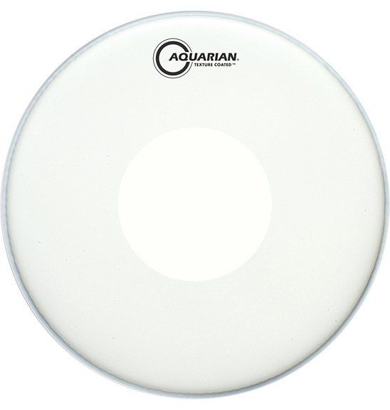 Aquarian Aquarian TCPD12 Single Ply Coated w/ Power Dot