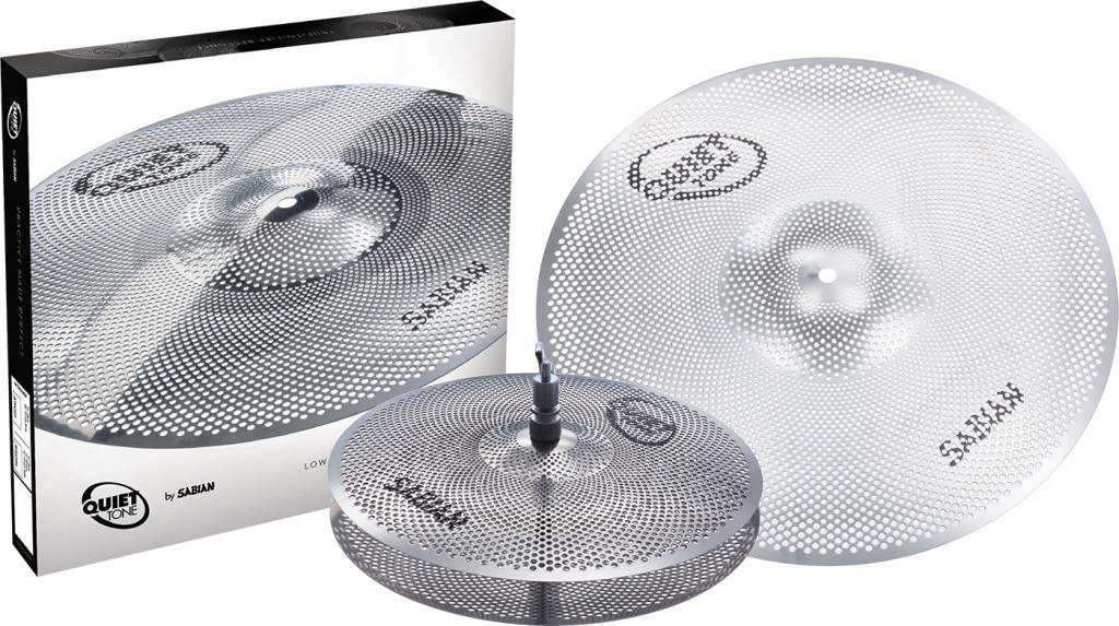"Sabian Sabian Quiet Tone 3pc Low Volume Practice Cymbals, 13"", 18"""
