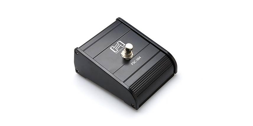 Hosa Hosa FSC-384 Single Button Footswitch, Latching