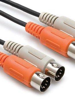 Hosa Hosa MID-204 Dual MIDI Cable, Dual 5-pin DIN to Same, 4 m