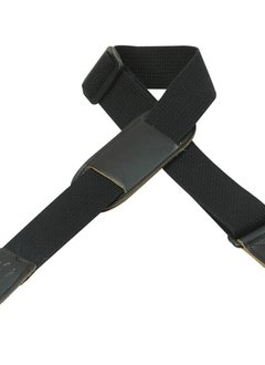 "Levy's Levy's MC8PJ-BLK 1.5"" Cotton Kids' Strap w/ Leather Pad Black"