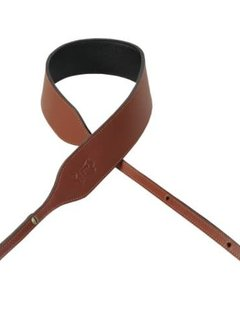 Levy's Levy's PMB32NS-WAL Veg-Tan Leather Banjo Strap, Walnut