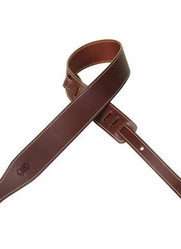 Levy's Levy's MV17-BRG Veg-Tan Leather Strap, Burgundy
