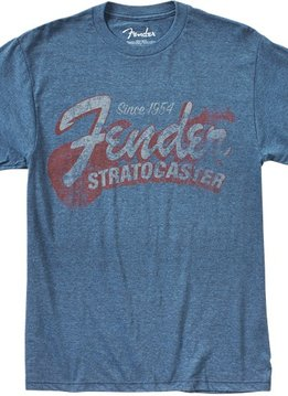 Fender Fender® Since 1954 Strat T-Shirt, Blue, X-Large