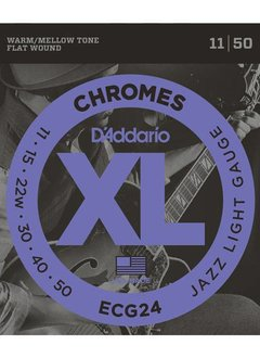 D'Addario D'Addario Set Chromes Jazz Light 11-50