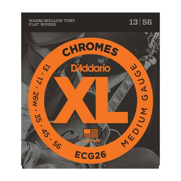 D'Addario D'Addario Set Chromes Medium 13-56