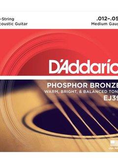 D'Addario D'Addario Phosphor Bronze Medium 12-String Set 12-52
