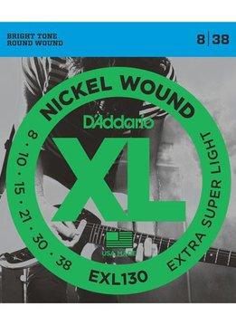 D'Addario D'Addario Nickel Wound .008-.038W