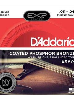 D'Addario D'Addario EXP74 Phosphor Bronze Mand. Medium 11-40