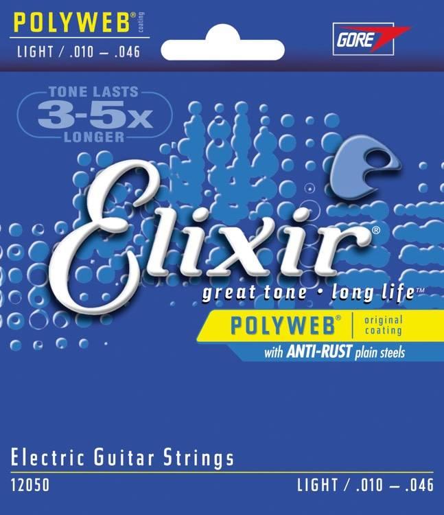 Elixir Elixir Polyweb Electric, Light 10-46