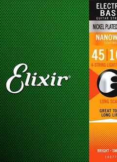 Elixir Elixir 5 String Nanoweb Electric Light (.045-.130)