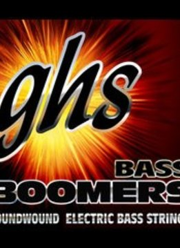 GHS GHS M3045 Bass Boomers 4-String Bass Set, Long Scale 45-105