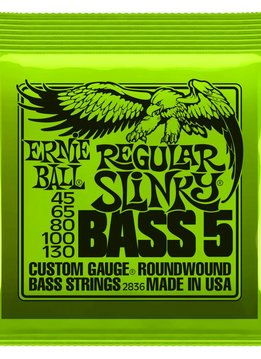 Ernie Ball Ernie Ball 5 String Bass Regular Slinky