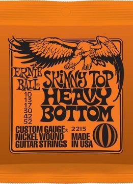 Ernie Ball Ernie Ball 2215 Skinny Top Heavy Bottom Electric String Set, 10-52