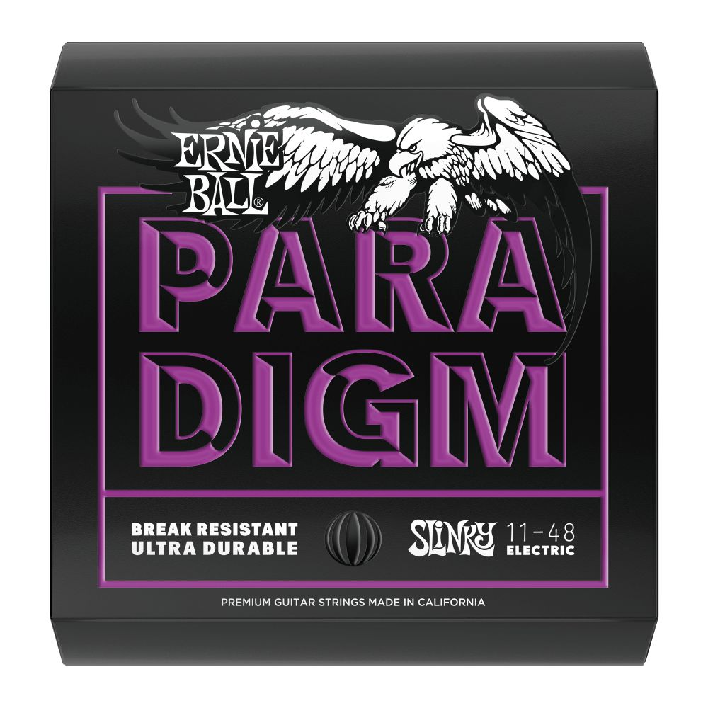 Ernie Ball Erine Ball 2020 Paradigm Power Slinky Electric String Set, 11-48
