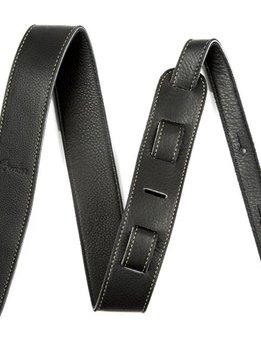 """Fender Fender Artisan Crafted Leather Strap,  2"""" Black"""