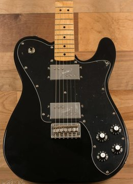 Squier Squier Vintage Modified Telecaster® Deluxe, Maple Fingerboard, Black - Mint