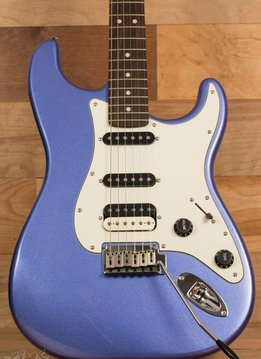 Squier Squier Contemporary Stratocaster® HSS, Rosewood Fingerboard, Ocean Blue Metallic