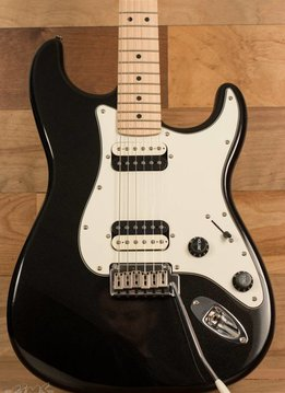 Squier Squier Contemporary Stratocaster®  HH, Maple Fingerboard, Black Metallic