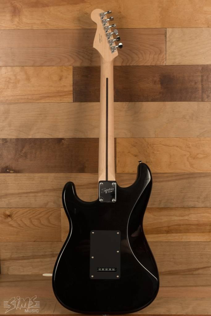 Squier Squier Contemporary Stratocaster®  HH, Maple Fingerboard, Black Metallic