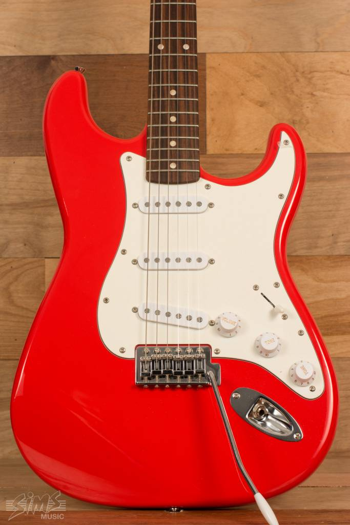 squier squier affinity series stratocaster rosewood fingerboard