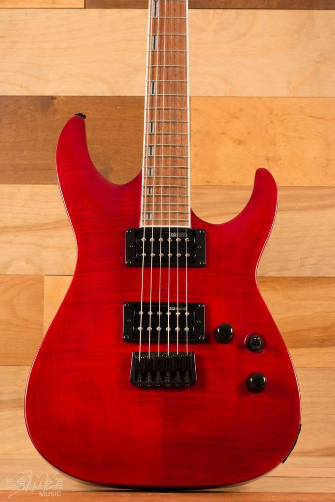 ESP ESP LTD H-200FM, See Thru Red