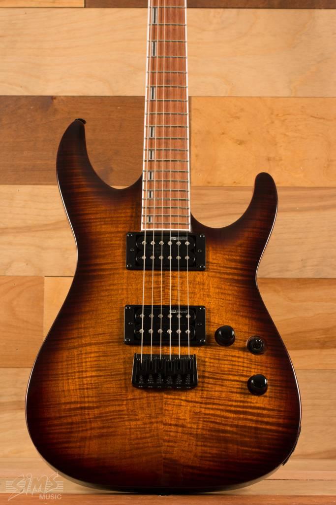 ESP ESP LTD H-200FM, Dark Brown Sunburst