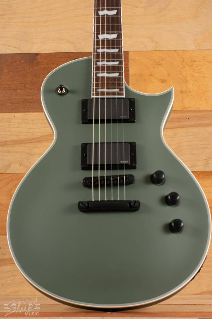 ESP ESP LTD EC-401, Military Green Satin