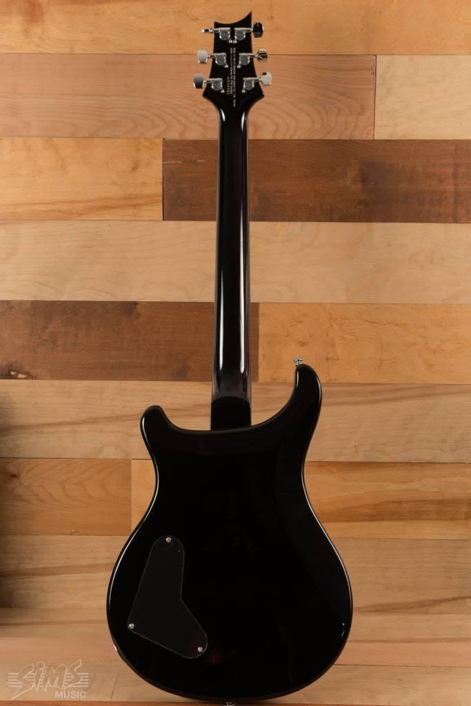 PRS PRS SE Custom 22 Semi Hollow, Gray Black
