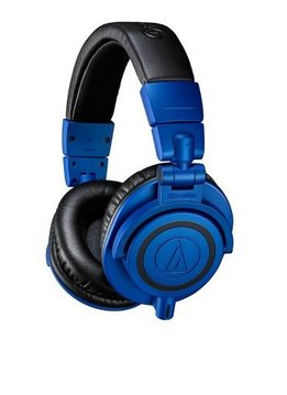 Audio-Technica Audio Technica ATH-M50XBB Monitor Headphones, Blue