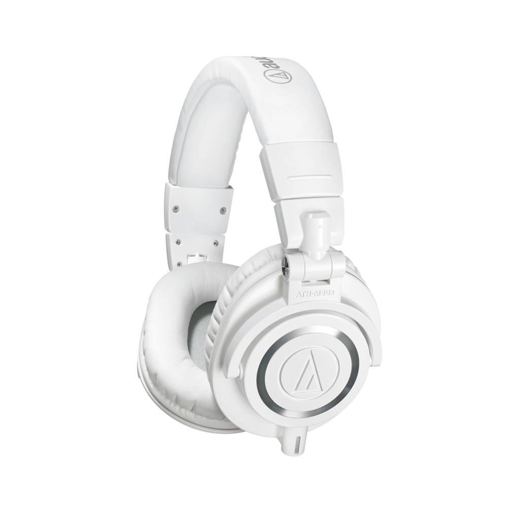Audio-Technica Audio Technica ATH-M50xWH Professional Monitor Headphones, White