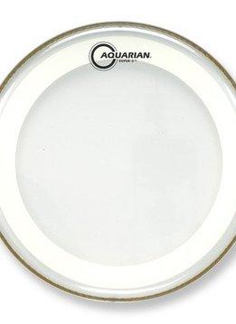 """Aquarian Aquarian 13"""" Super 2 w/ Studio X Ring, Texture Coated"""